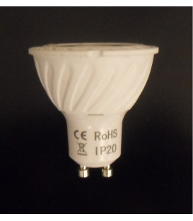 Lampada COB led GU10 230Vac 7W bianco freddo 6000K