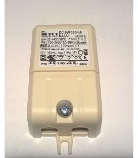 Egoluce alimentatore per led in corrente costante 350 mA 8W
