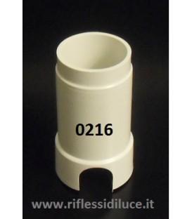 Egoluce cassaforma a parete per faretti led con diametro del foro 3,2 cm