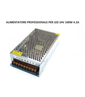 RIFLESSI ALIMENTATORE PROFESSIONALE LED 24V 100W IP20