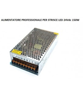 RIFLESSI ALIMENTATORE PROFESSIONALE LED 24V 150W IP20
