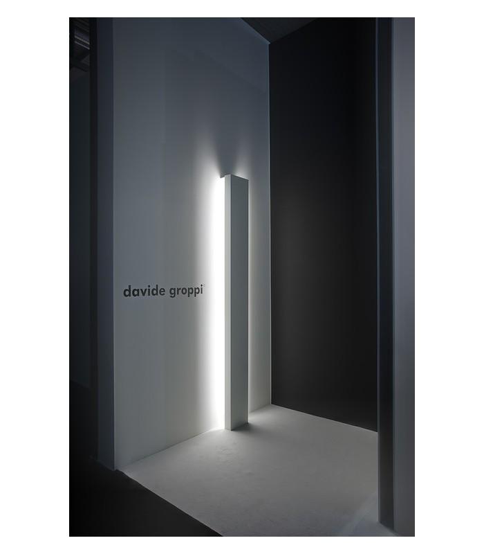 Davide Groppi lampada da terra banner 230 metallo bianco ...