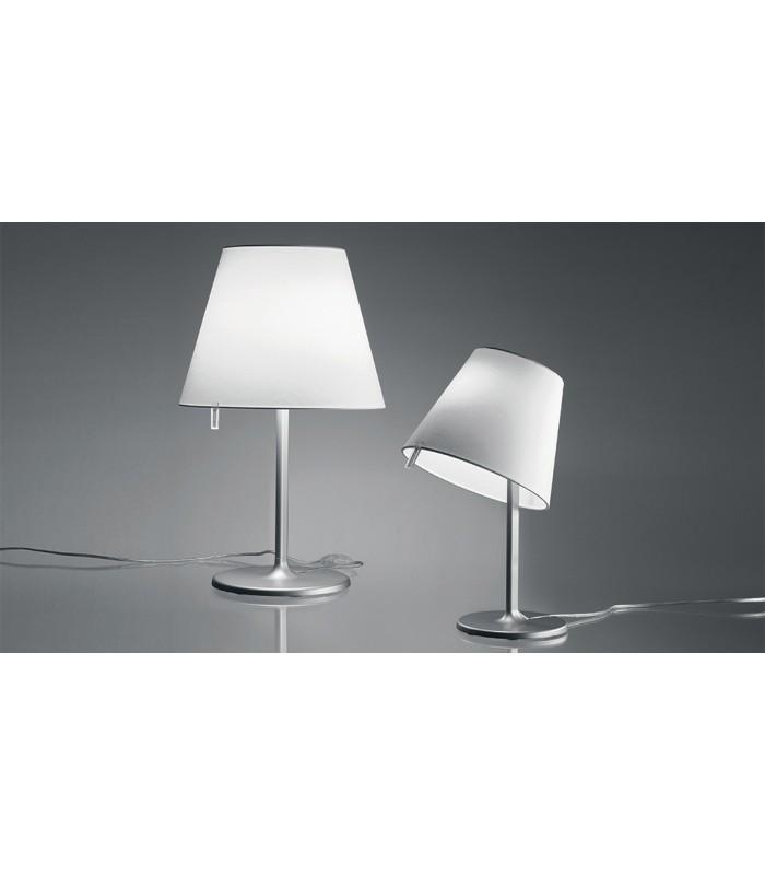 Artemide melampo tavolo lume grigio alluminio artemide - Artemide lampade da tavolo prezzi ...