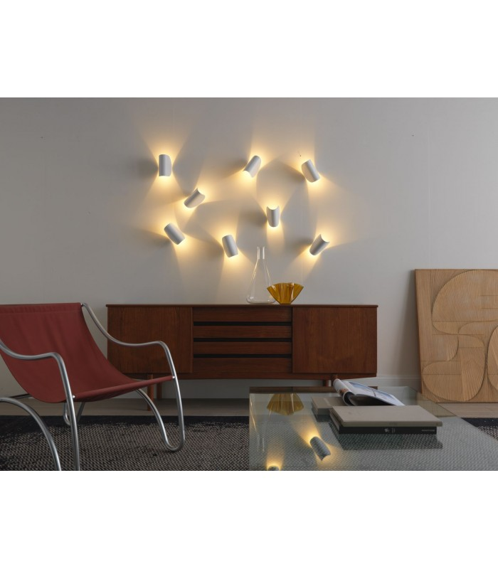 Fontana arte|IO|parete|bianca|led|prezzi IO fontanaarte|lampade ...