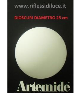 Artemide Dioscuri 25 ricambio diffusore in vetro
