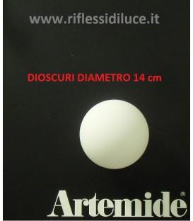 Artemide Dioscuri 14 ricambio diffusore in vetro