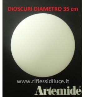 Artemide Dioscuri 35 ricambio diffusore in vetro