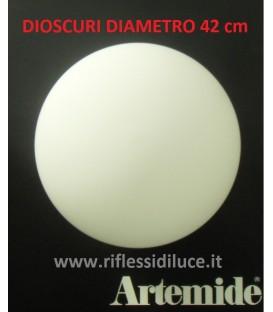 Artemide Dioscuri 42 ricambio diffusore in vetro