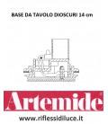 Artemide Dioscuri 14 ricambio base da tavolo