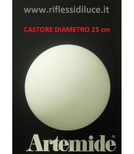 Artemide Castore 25 ricambio diffusore in vetro