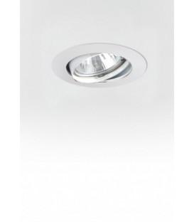 Egoluce 6455 bianco faretto da incasso orientabile GU10