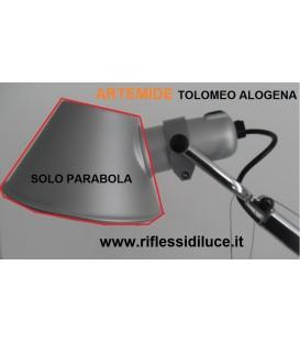 Artemide parabola di ricambio per Tolomeo alluminio alogena