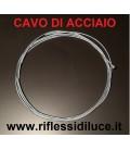 Artemide cavo di acciaio ricambio Logico 4X - Logico mini 4X - sospensione