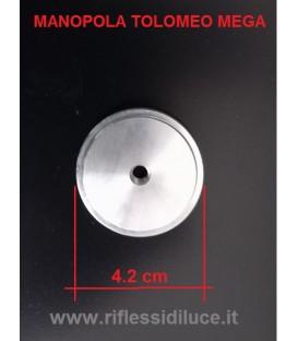 Artemide manopola diametro cm 4.2 ricambio per Tolomeo mega