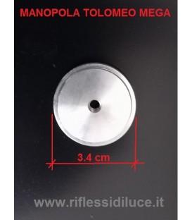 Artemide manopola diametro cm 3.4 ricambio per Tolomeo mega