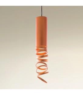 Artemide Decomposè Light sospensione arancione