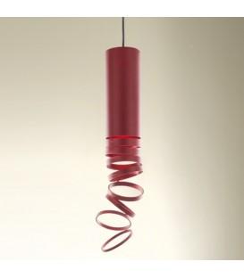 Artemide Decomposè Light sospensione rosso