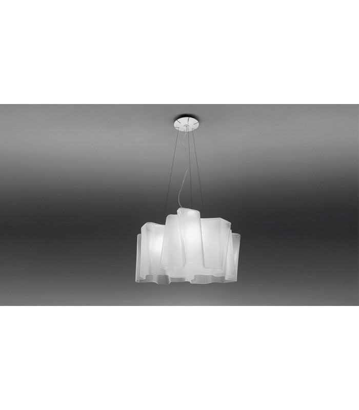 artemide lampadario sospensione : Artemidelampada a sospensione logico3X120 gradivetro soffiato ...