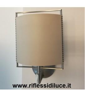 Treciluce Elettra 22W a parete diffusore colore sabbia