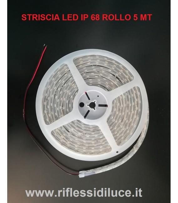 Striscia led per esterno ip68 luce bianco naturale vendita for Luce led striscia