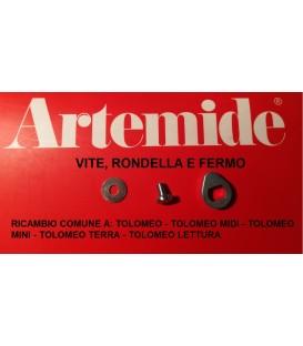 Artemide Tolomeo ricambio vite con rondella e fermo