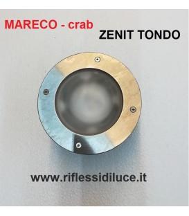 Mareco crab zenit tondo faro da incasso per esterno 12V 35W