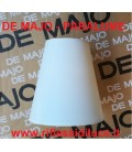 De Majo paralume in seta bianca ricambio per 2599 shade