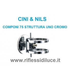 Cini & nils componi 75 uno parete struttura cromata