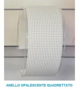 Cini & nils anello opalescente quadrettato per componi 75
