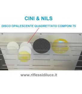 Cini & nils disco opalescente quadrettato per componi 75