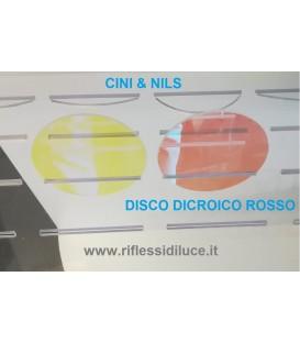 Cini & nils disco dicroico rosso per componi 75