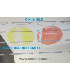 Cini & nils disco dicroico giallo per componi 75
