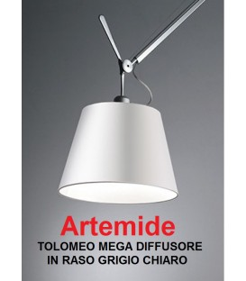 Artemide diffusore in raso diametro 36 per Tolomeo mega