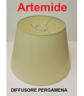 Artemide diffusore in pergamena diametro 32 per Tolomeo mega