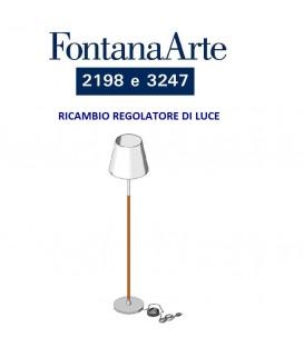 Fontana Arte regolatore di luminosità ricambio per piantana 2198