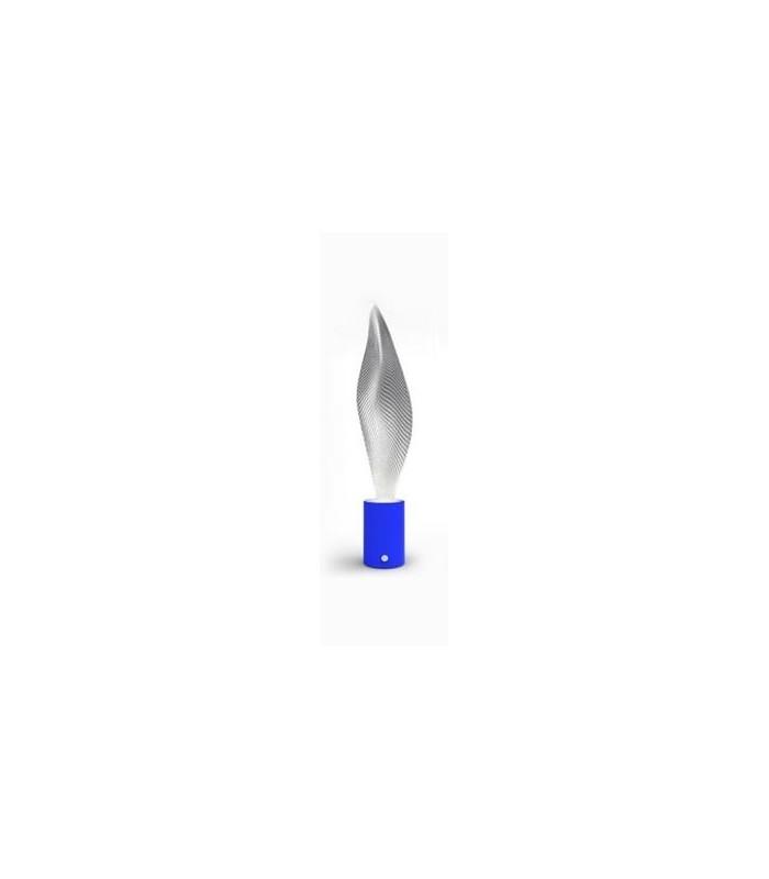 artemide cosmic leaf mini lampada da tavolo colore blu led 3w interruttore dimmerabile miglior. Black Bedroom Furniture Sets. Home Design Ideas