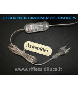Artemide dioscuri 25 ricambio regolatore di luminosità