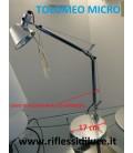 Artemide cavo di acciaio primo braccio ricambio Tolomeo micro