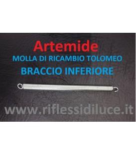 Artemide tolomeo tavolo standard molla di ricambio per primo braccio
