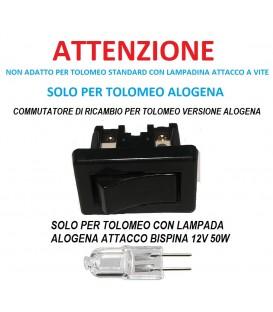 Artemide commutatore di ricambio per tolomeo alogena