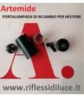 Artemide portalampada attaco Ba15d ricambio per piantana nestore