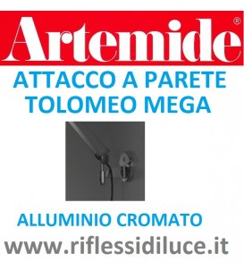 Artemide attacco a parete per tolomeo mega