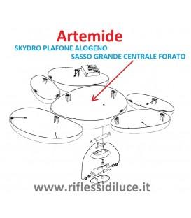 Artemide ricambio Skydro sasso grande centrale con foro