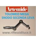 Artemide leva secondo snodo ricambio Tolomeo mega