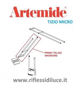 Artemide Tizio micro silver primo telaio inferiore