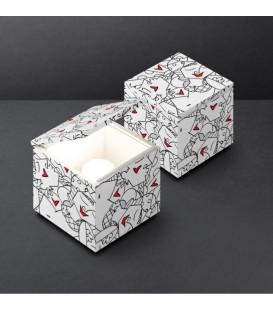 Cini & Nils cuboluce special edition Britto white