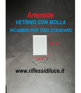 Artemide Tizio standard vetrino e molla di ricambio