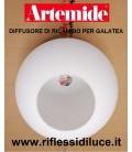 Artemide ricambio diffusore in vetro bianco latte per galatea tavolo
