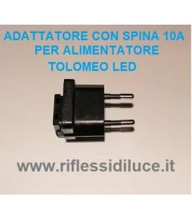 Artemide adattatore a spina 10A+T Italiana