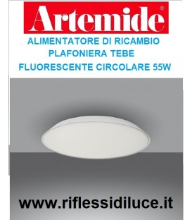 Artemide alimentatore di ricambio per Febe fluorescente circolare 55W